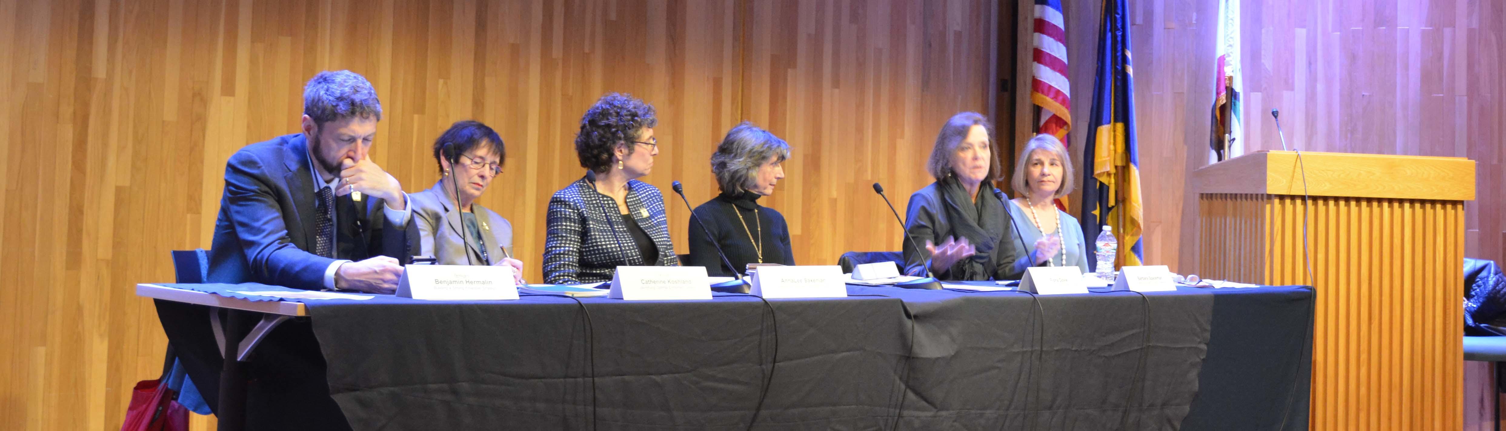 Berkeley leaders at town hall